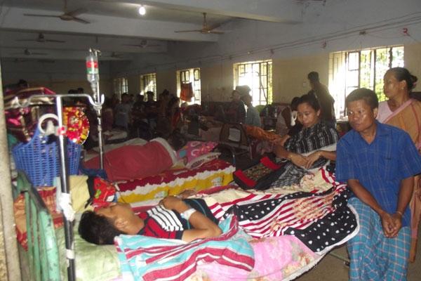 অনিয়ম-অব্যবস্থাপনায় ভেঙ্গে পড়েছে রাঙামাটি হাসপাতালের চিকিৎসা সেবা