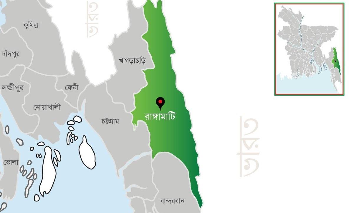 রাঙ্গামাটিতে গুলিতে জনসংহতি সমিতির ২ কর্মী নিহত