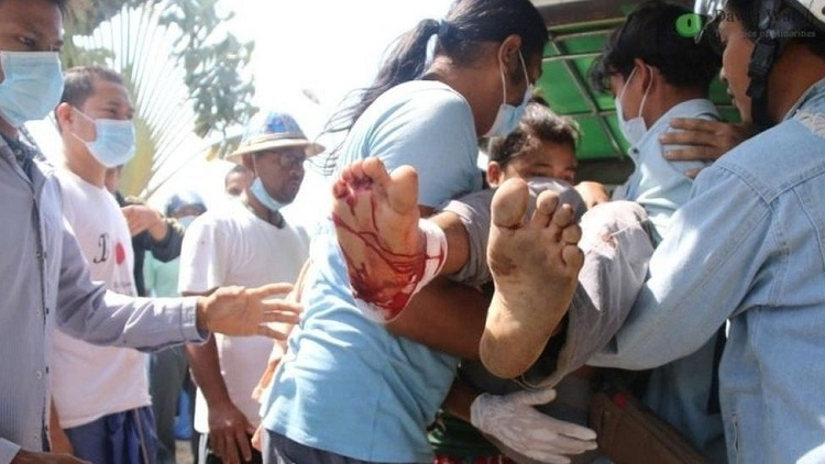উত্তপ্ত মিয়ানমার: পুলিশের গুলিতে নিহত ৭ বিক্ষোভকারী